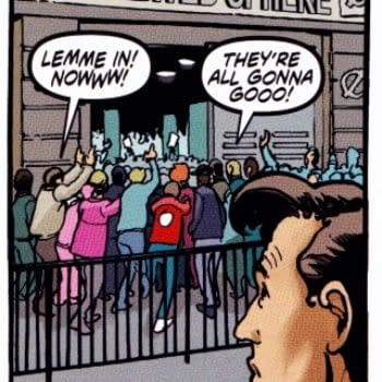 The Forbidden Planet FCBD Doctor Who Signing Is In The FCBD Doctor Who Comic