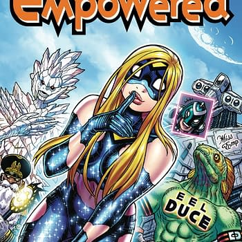 Sexy Superhero Comedy Empowered Returns With Volume 9
