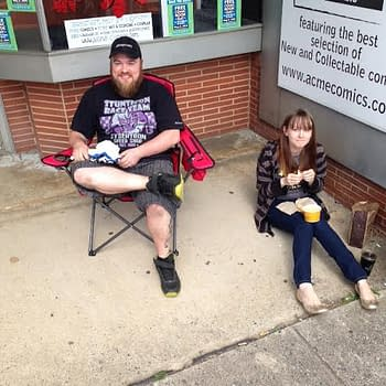 The Line For Free Comic Book Day Has Already Begun In North Carolina