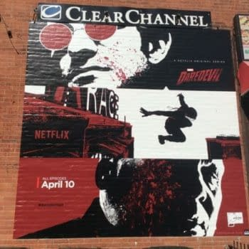 The Hell's Kitchen Ads For Netflix Daredevil Drawn By Joe Quesada