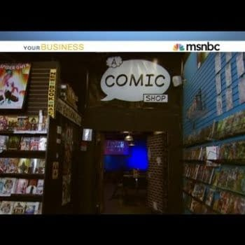 A Comic Shop / The Geek Easy Featured On MSNBC