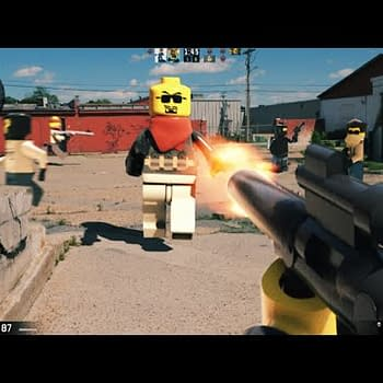 This Is What First Person LEGO Portal Skyrim And Counter Strike Games Would Look Like