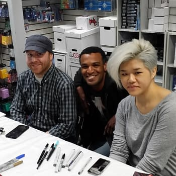Snyder, Tynion, Bennett, Wu, Soule, White, Chen And Smith At 4th World For Free Comic Book Day