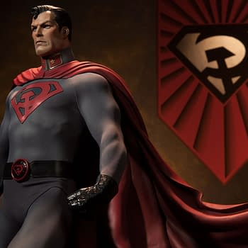 Sideshow Announces 2-Foot Tall Superman: Red Son Premium Format Figure