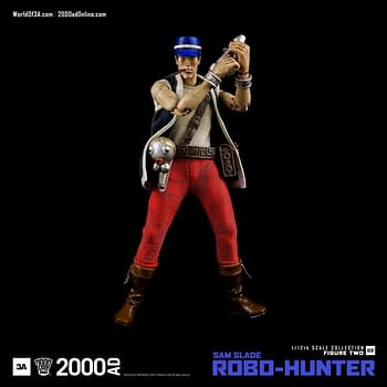Six Inches Of Sam Slade Robo-Hunter From 3A And Rebellion, With Plenty More To Come