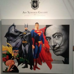 Swipe File: Salvador Dali, Batman, Superman And Robin