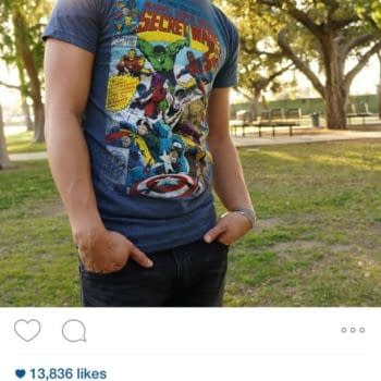 Marvel Points Out There Is An Unedited Secret Wars T-Shirt You Can Buy