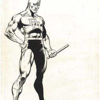 Frank Miller's Original Marvel Universe Handbook Art