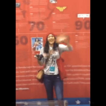 The Wonder Woman Exhibition At Atlantic City Boardwalk Con, As Seen on Periscope (Batmobile UPDATE)