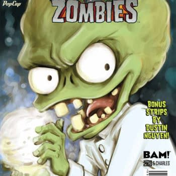 Get Your Free Copy Of Plants Vs. Zombies #1: 'Lawnmageddon' Ahead Of New Series
