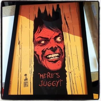 Francesco Francavilla's Here's Juggy To Be Limited Giclee