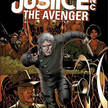 Barry Kitson Covers Justice Inc The Avenger #1