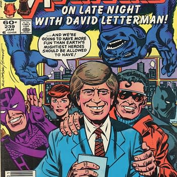 That Time David Letterman Was In An Avengers Comic