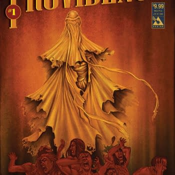 Alan Moore And Jacen Burrows' Providence #1 Debuts At Denver Comic Con With Variant Cover