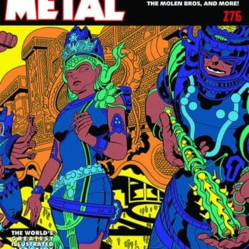 Jack Kirby's Operation Argo Artwork In Heavy Metal For August