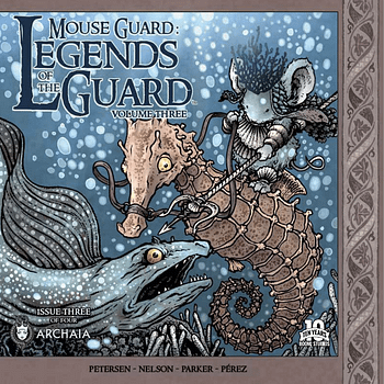 Bring The Tissues For Mouse Guard: Legends Of The Guard Volume 3 #3
