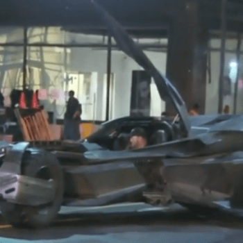 Your Best Look At The New Batmobile From Suicide Squad Yet