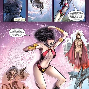 Swords Of Sorrow: Vampirella / Jennifer Blood #1 Writers Commentary
