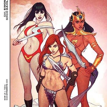 Exclusive Extended Preview Of Swords Of Sorrow #1 And John Carter: Warlord Of Mars #6