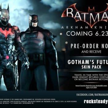The Dark Knight Returns And Batman Beyond Skins Are Arkham Knight Pre-Order Bonuses