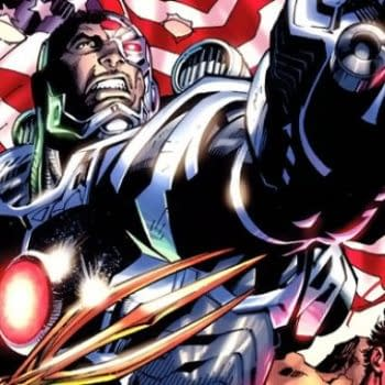A Brand New Look for DC's Cyborg, Today