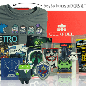 Subscription Box Geek Fuel Powers Denver Comic Con With Exclusive Geek Giveaways