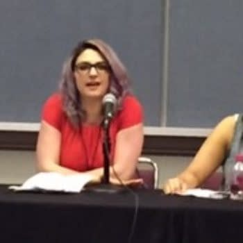 The Women Of Marvel Panel At ACBC With Sana Amanat, Katie Kubert, And Judy Stephens