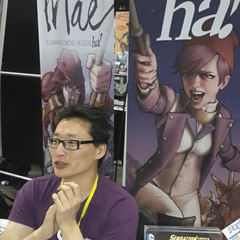 Denver Comic Con 15: Talking With Gene Ha About Mae With 2 More Days On Kickstarter