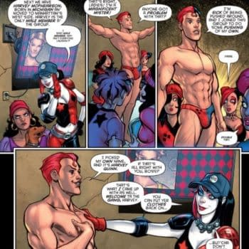 Today, Harley Quinn Introduces A Familiar Red Head In A Wheelchair…