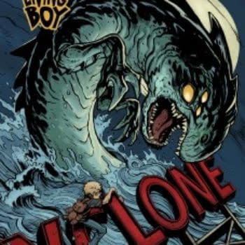Papercutz Picks Up David Gallaher And Steve Ellis' The Only Living Boy
