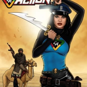 SDCC 2015 Debut: Lady Action And Chew
