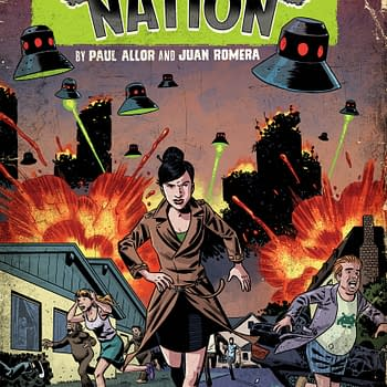 From IDW Strange Nation Pits The Determination Of A Writer Against A Conspiracy
