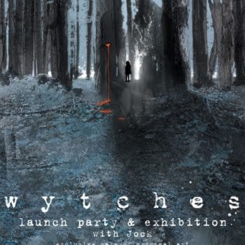 Jock In Rare Sale Of Original Art – And Wytches Bookplate – From Gosh Comics