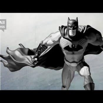 Win A Jim Lee Signed / Out Of Print Batman: Black & White Statue