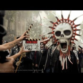 Spectre Opening Scene Set At Day Of The Dead Festival