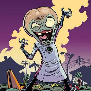 SDCC 15: Dark Horse Announces Plants Vs. Zombies: Garden Warfare By Tobin And Chabot