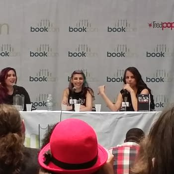 The Women Of Marvel And YA Black Widow: Forever Red Book Panel @Bookcon NYC 2015