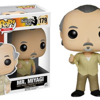 Wax On, Wax Off! Funko Will Be Releasing Karate Kid POP! Vinyls This Month