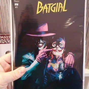 The Joker Batgirl #41 Cover Hits eBay. Just The Cover.