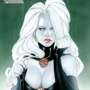 Lady Death Hits Kickstarter For 12 More Days Only, Funding A Zero Issue And Digital Origins Library