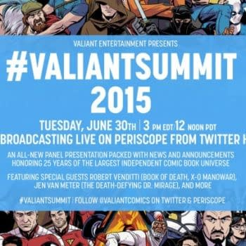 Valiant's Major Announcements From Twitter HQ Via Periscope In One Week's Time #ValiantSummit