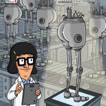 Frank Forte Brings Robutts To Bob's Burgers Retailer Exclusive Cover