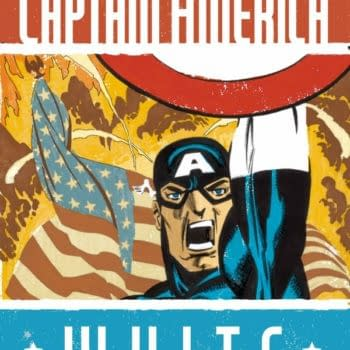Marvel Publish Captain America White, After Waiting Seven Years