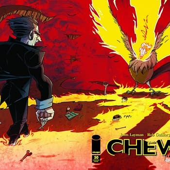 Exclusive: San Diego Comic Con Does Chew #50