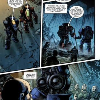 Monsters Vs. Mechs In Gunsuits #2 By Paul Tobin And P. J. Holden