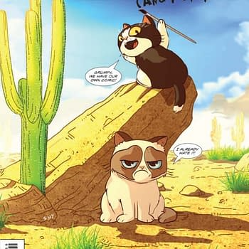 4 Writers And 5 Artists Make Up The Grumpy Cat Creative Team