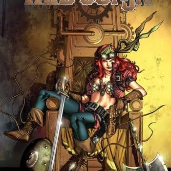 Mark Andreyko On Reinterpreting How Red Sonja Would Act In A Steampunk World