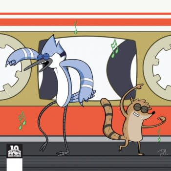 Preview Regular Show's 25th Anniversary Issue This Week