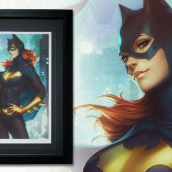 Sideshow To Release Batgirl and Gallevarbe Limited Edition Art Prints