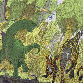 8 Pages Of Lavish Dino-Drama – Preview Age Of Reptiles: Ancient Egyptians #2 From Dark Horse